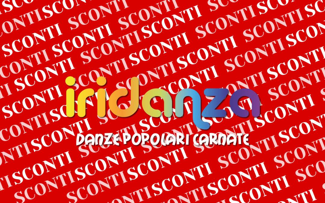 SCONTI PER I SOCI IRIDANZA